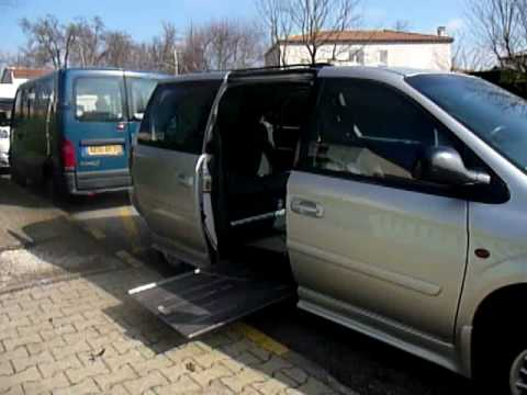 Chrysler Town & Country Whellchair accessible by PARAVAN GMBH