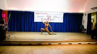Linda Taylor Solent City Bodybuilding Championships 2015