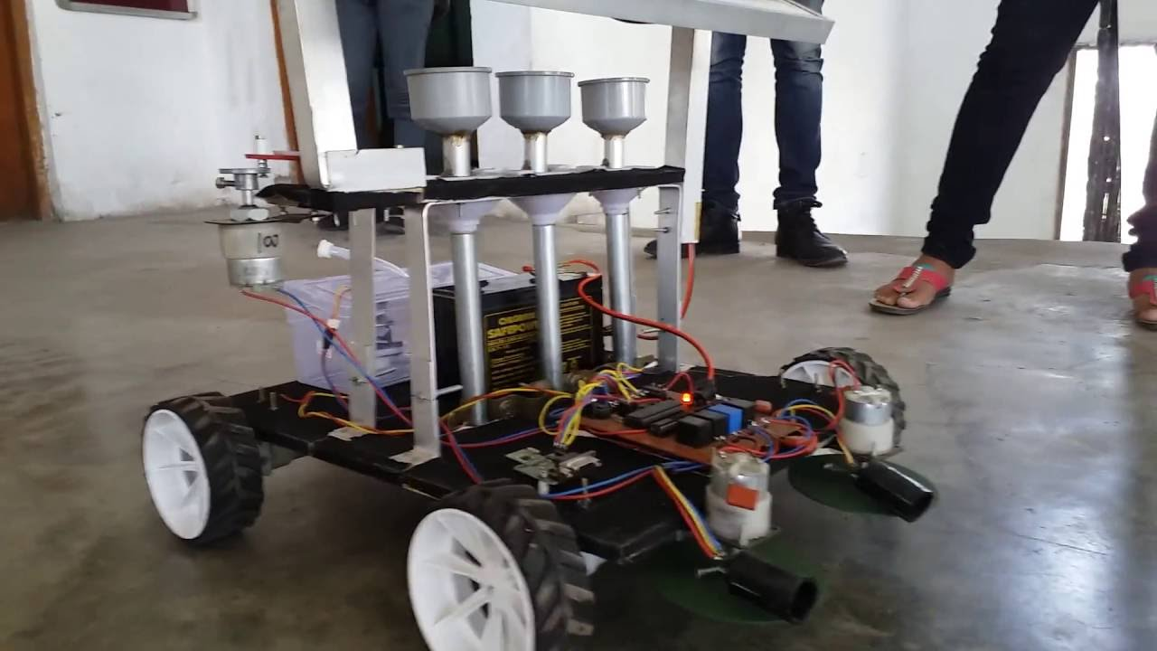 Wireless Multipurpose Agriculture Robot Youtube