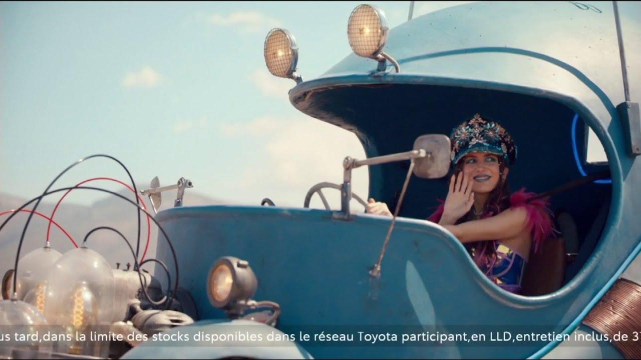 """Musique de la pub Toyota Corolla Hybride – Happy Hybrid Days """"roulez avec votre temps""""  Juin 2021"""