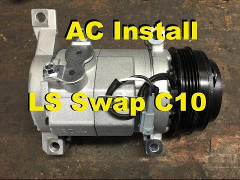AC LS Swap C10 Part 2 + Brake Master Upgrade, Console & Tires