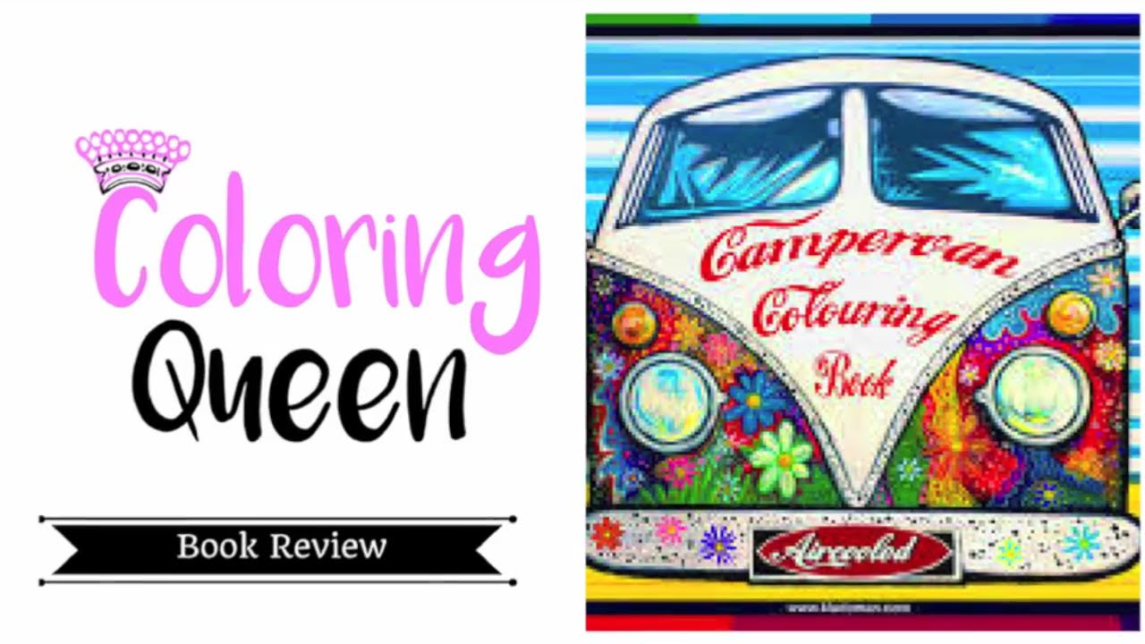 Aircooled Campervan Colouring Book