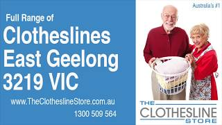 If You're Looking For a New Clothesline in East Geelong 3219 VIC, We Have a Solution For You