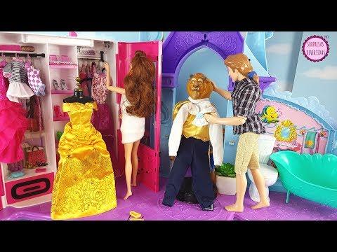 Rutina de Bella y Bestia en el Castillo de Princesas Disney ¡LO QUE OPINEN LOS DEMÁS NO IMPORTA!