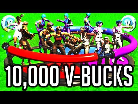 Last Man Standing Wins 10,000 V-Bucks #3 (Fortnite Funny Moments)