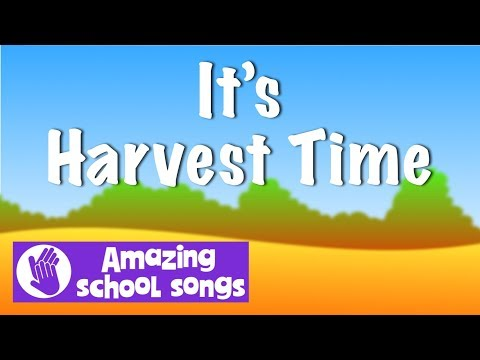 No 1 | It's Harvest Time - Autumn, Harvest Songs - great for schools