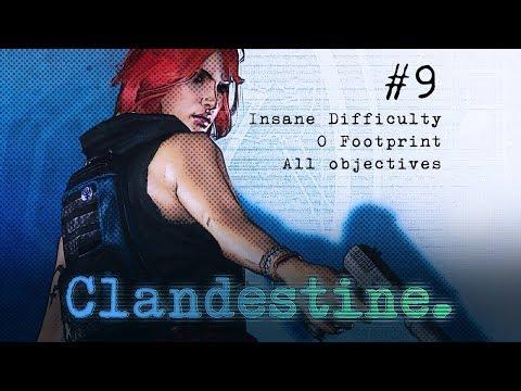 Clandestine: Palo Alto, California (Insane difficulty | 0 footprint | All play styles)
