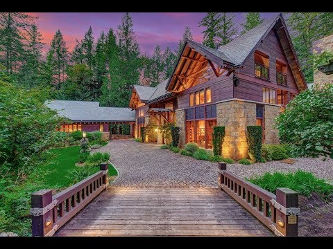 beautiful 9 million stone house with 10 car garage 5 bed. Black Bedroom Furniture Sets. Home Design Ideas