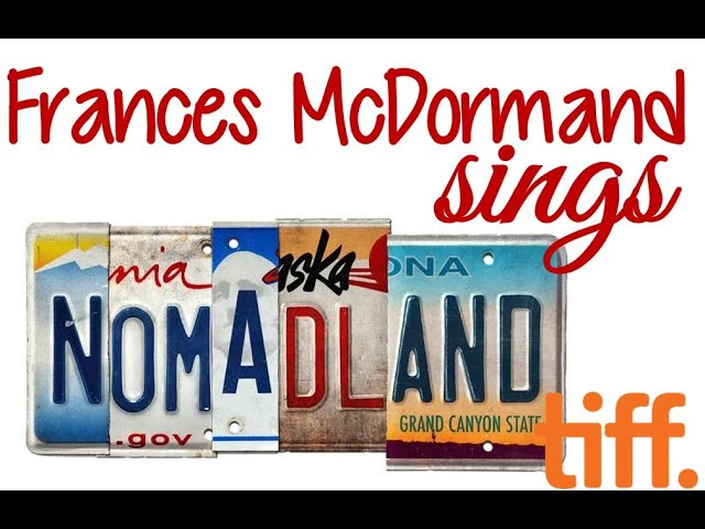 Nomadland Director Chloe Zhao Draws An Incredible Performance Out Of Frances Mcdormand Youtube