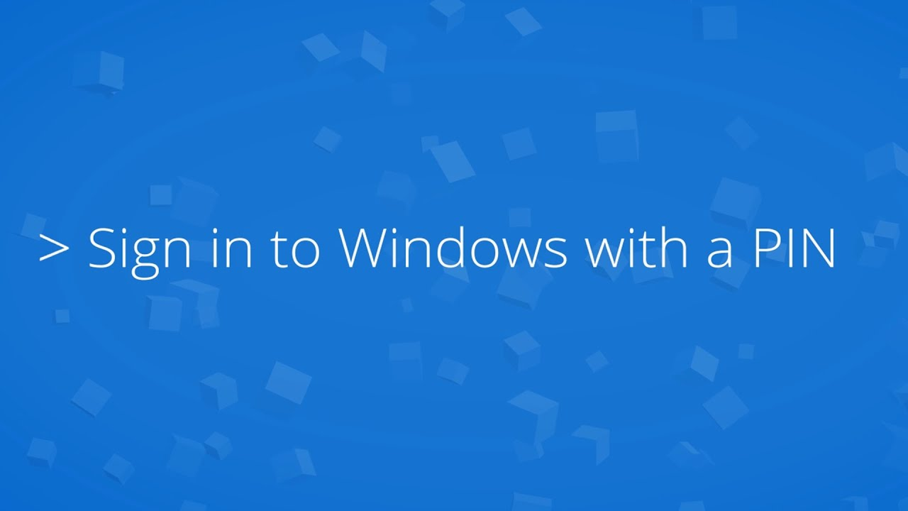 PIN or Password? What to Use in Windows 10