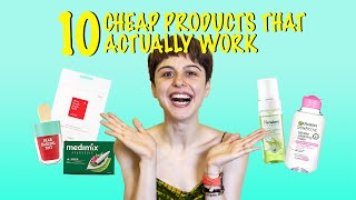 10 Cheap Products That work! || Budget Buys!!!