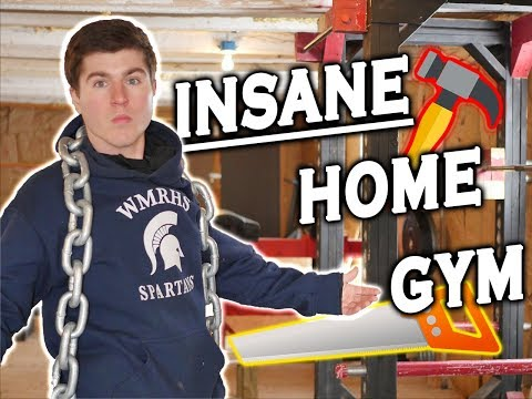 The Craziest Home Gym Ever | WOOD Equipment 🌲 | Full Tour