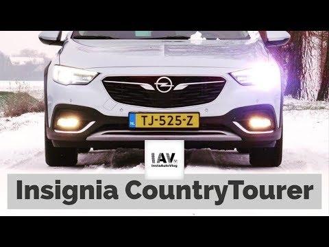Review: Opel Insignia CountryTourer - Uiterlijk vertoon is standaard