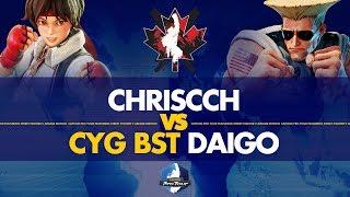 ChrisCCH (Sakura) VS CYG BST Daigo (Guile) - Canada Cup 2019 Pools - CPT 2019