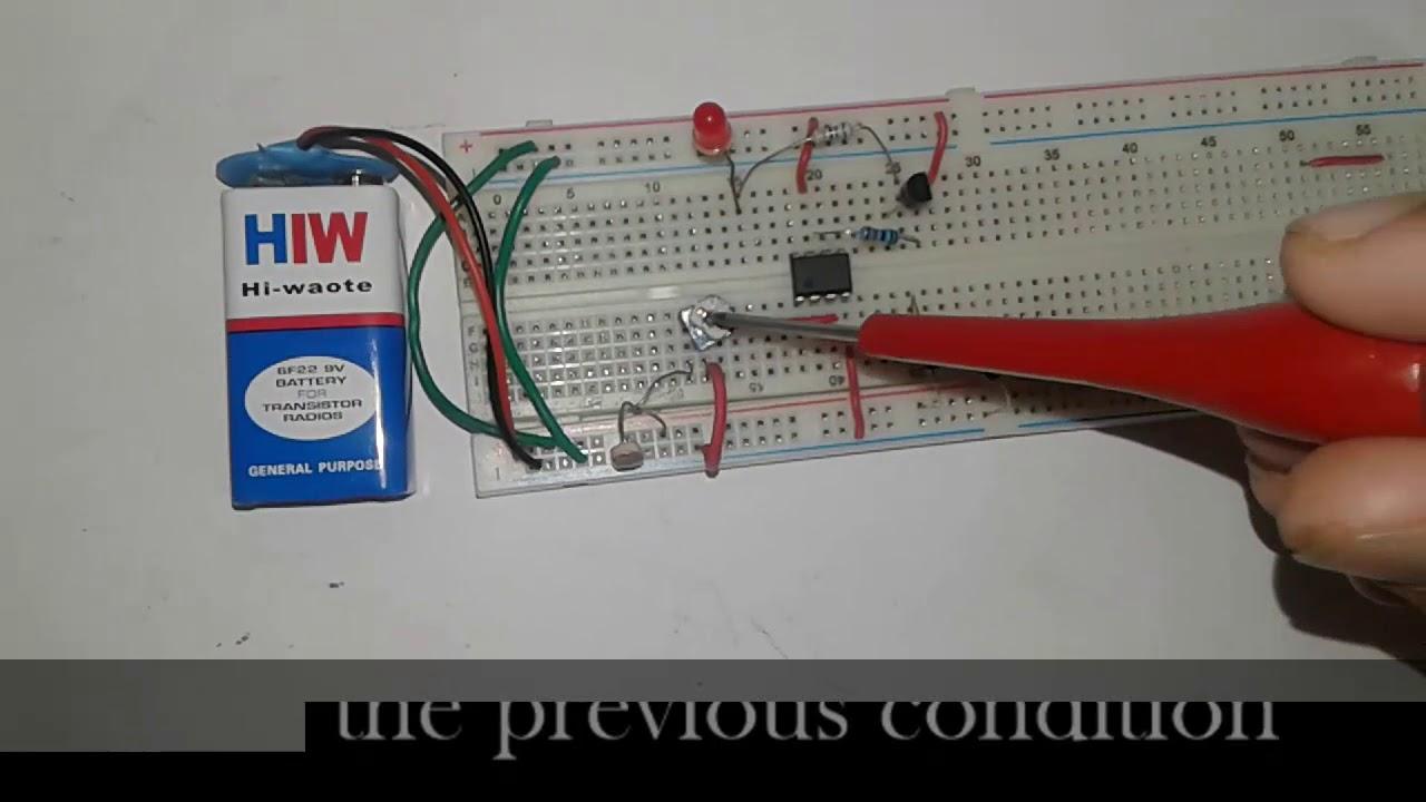 Light Detector Using Wheatstone Bridge Youtube Circuit Sensitive Switch With Ldr 2n2926 Digest