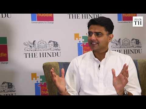 Sachin Pilot on Lok Sabha elections 2019 at The Hindu's Huddle