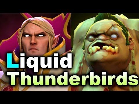 LIQUID vs THUNDERBIRDS (ex.DC) - Kiev Major DOTA 2