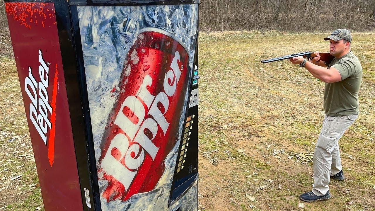 Elephant Rifles vs Soda Machine 🥤