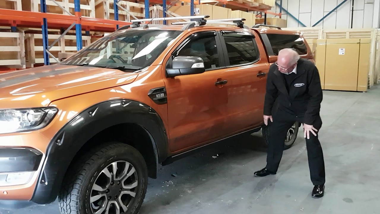 Ford Ranger Automatic Electric Side Steps