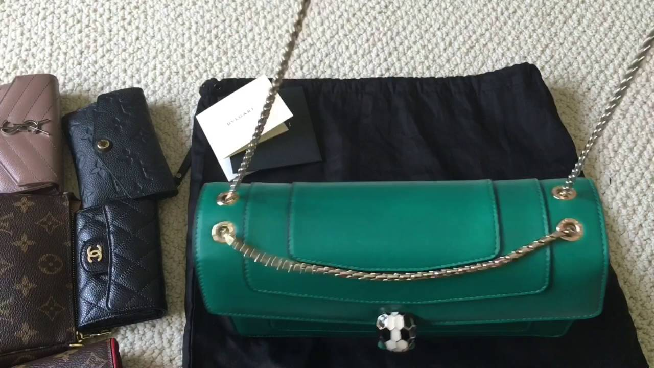 363b62099bd What fits inside my BVLGARI SERPENTI FOREVER Bag