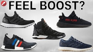 What Shoes Can You Feel Boost in the MOST??