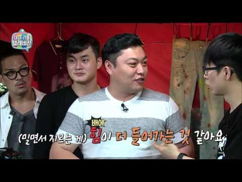 【TVPP】 Hyunwoo(Guckkasten) - Singing Lesson By King Masked Singer , 하현우(국카스텐) - 음악대장의 노래 레슨 @Malitel