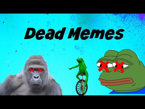 Dead memes that aren't funny anymore and never were