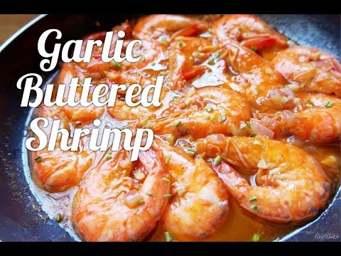 Garlic Buttered Shrimp | Cookph [HD]