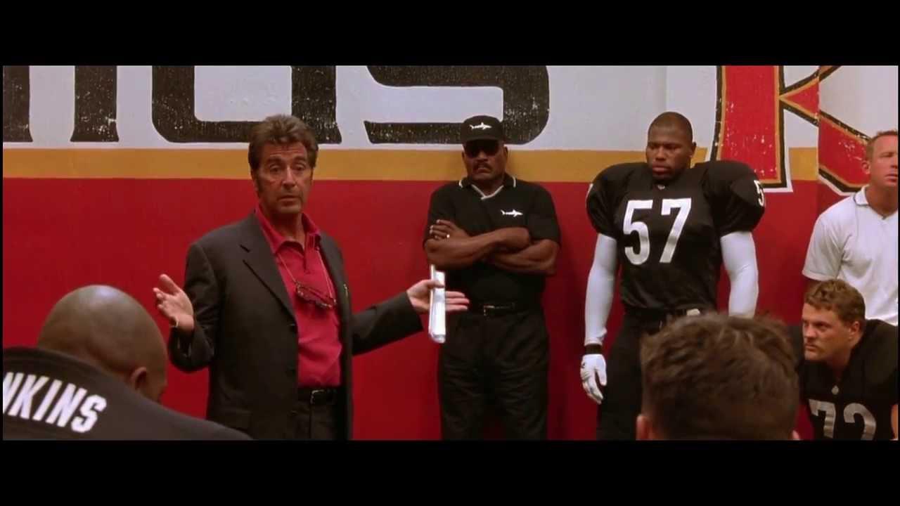 Discurso Al Pacino Película Un Domingo Cualquiera