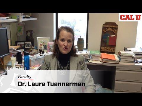 History Degree at Cal U - Faculty Showcase: Dr. Laura Tuennerman