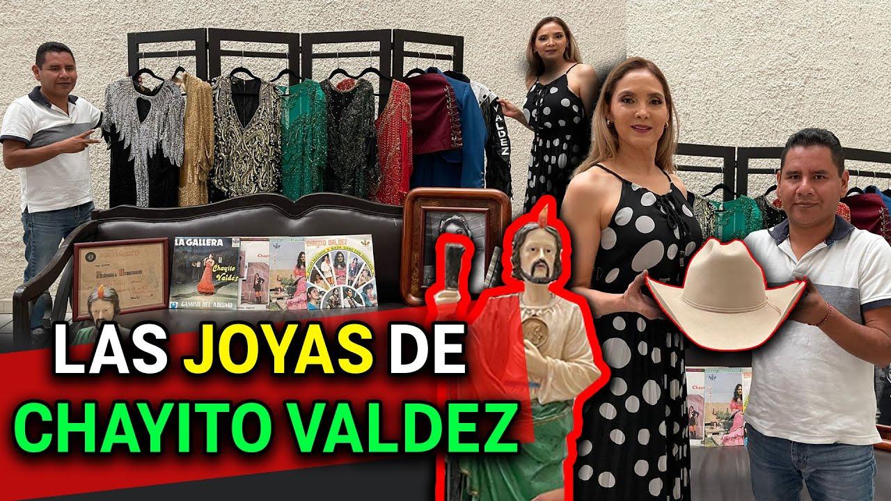 La hija de Chayito Valdez enseña los vestidos y tejana de su mama