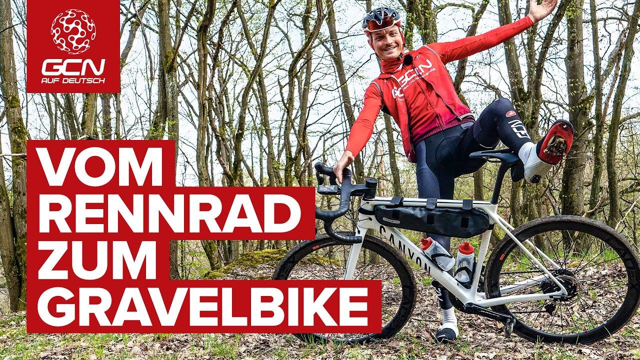 Wie man aus seinem Rennrad ein Gravelbike macht und warum man das definitiv tun sollte!