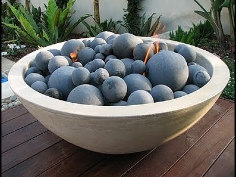 Concrete Fire Pit Bowl - Concrete Fire Pit Bowl - YouTube