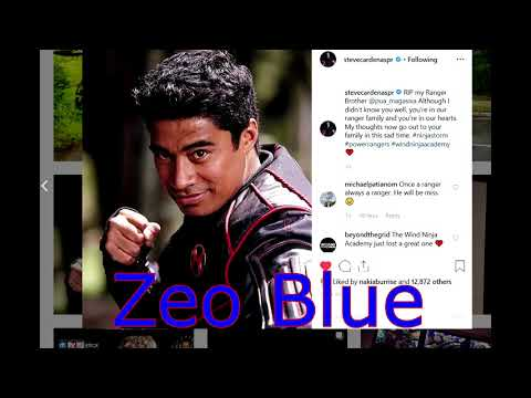 Power Ranger Actors Respond To Pua Magasiva's Death