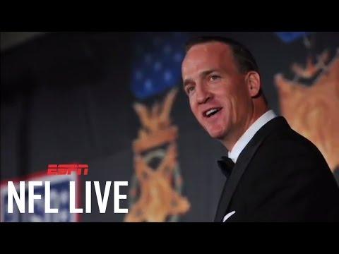 Peyton Manning To Host ESPYS | NFL Live | ESPN
