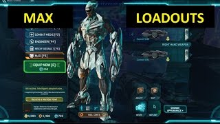 Planetside 2 - MAX - Three loadouts for versatility
