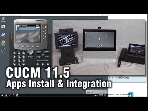 How to install/integrate CUC and IM&P 11 5 to CUCM 11 5 (Home Lab