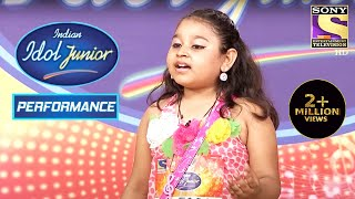 Sonakshi's Impactful Performance on 'Do Naino Mein'  | Indian Idol Junior