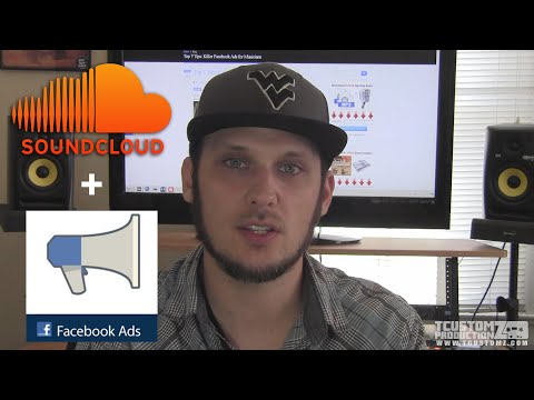 Promoting Your Music & Video w/ Facebook Ads & Soundcloud Tips: Music Marketing Tips | TCustomz