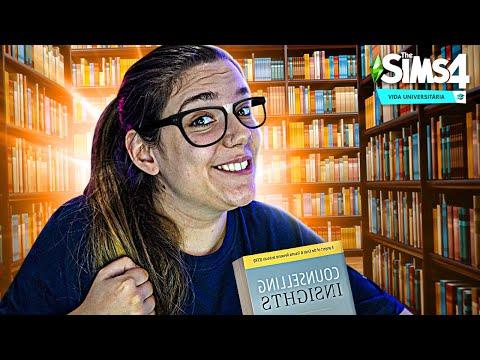 VOU VIRAR A MELHOR ALUNA! - The Sims 4 Vida Universitária