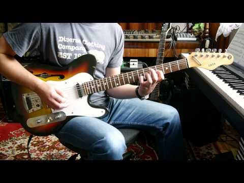 I'M ALRIGHT - Neil Zaza / JerryC, Guitar Cover + Backing Track / Tabs
