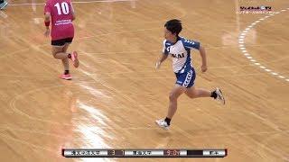 2019全日本学生ハンドボール《インカレ》女子準々決勝、環太平洋大学vs東海大学