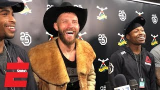 Donald Cerrone talks win vs. Mike Perry, fatherhood, returning to 155 pounds, more | MMA Sound