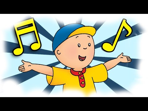 🎹 Caillou 30min Sing-a-long! ♬ Caillou Theme Song and More Songs! With Lyrics! New Caillou Episode