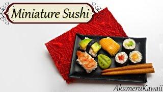 Miniature Sushi - Polymer Clay Tutorial