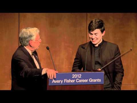 2012 Avery Fisher Career Grant recipient Benjamin Beilman, violinist