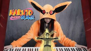 Naruto Shippuden OST「Departure To The Front Lines 出陣」Ru's Piano Cover - Ikuzo Kurama !!