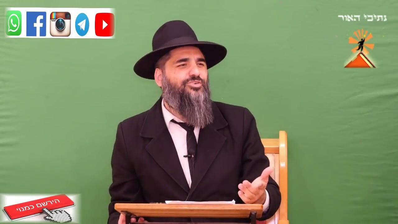 הרב יונתן בן משה   גם היום יש שואה