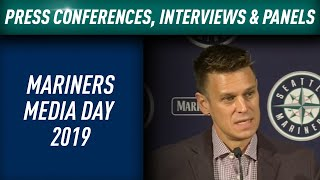 Mariners Media Day features many suprises