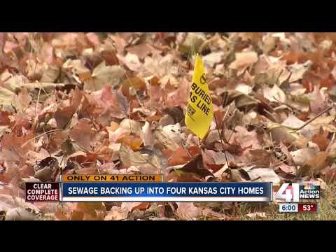 Volker residents deal with raw sewage in their homes